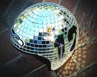 Customized Mirror Ball Helmet