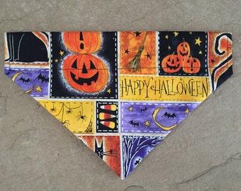 Halloween Over The Collar Bandana-Medium