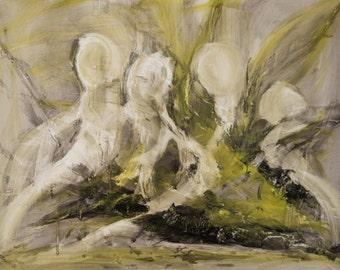 Original Painting - Art Painting, Acrylic, Abstract, 60 x 80
