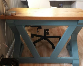 Custom Handmade Farmhouse Style Desk
