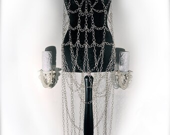 bespoke handmade Chain Dress