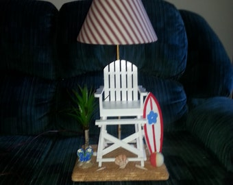 Cute Lifeguard Chair Lamp