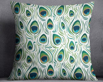 100 peacock feather cushion peacock feather cushion ebay