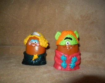 Vintage McDonald's Halloween Happy Meal McNugget Costume Collectible Toys 1995