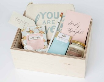 You are lovely girly gift box