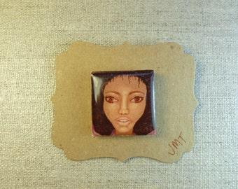 Art Pin Brooch