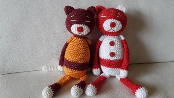 Amigurumi Cat Amineko : AMINEKO. Cat crochet. AMIGURUMI