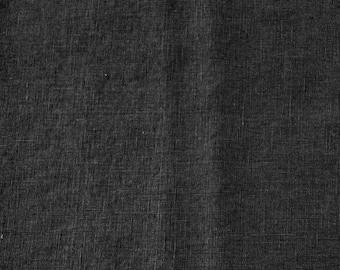 Washed Linen - Black