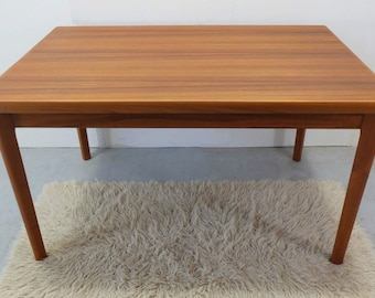 Danish modern 60s 70s TEAK dining table dining table denmark extendable to 238 cm No. 297