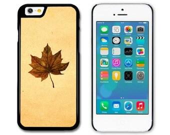 Maple Leaf Original Art Illustration iphone 4S 5S 5C 6 6S 6+ Samsung S3 S4 S5 A3 S6 Edge HTC Xperia