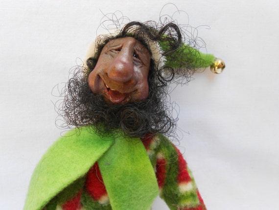 African American Elfchristmas Elf Ooak Elf Shelf Sitter