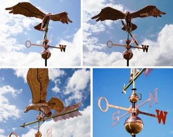 Copper weathervane Eagle 3D/Eagle weathervane cooper