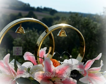 Car jewelry gold rings of exclusive car decoration car jewelry rings silver wedding