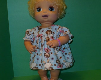 16  inch Baby Alive Flannel Nightgown
