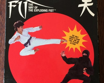 Kung Fu (commodore 64) Vintage In Box Rare C64 Fighting Video Game