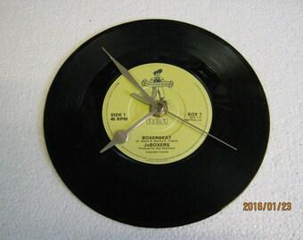 "JoBoxers - ""Boxerbeat"" Vinyl Record Wall Clock"