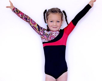Gymnastics Leotard for Girls Child size 122cm