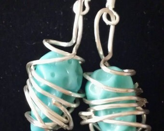 Tangled Turquoise Drops