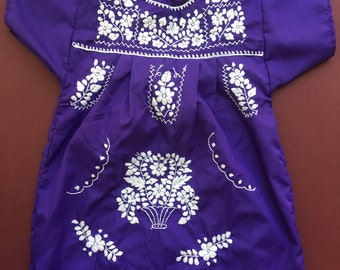 Mexican dress Size 6-8 y
