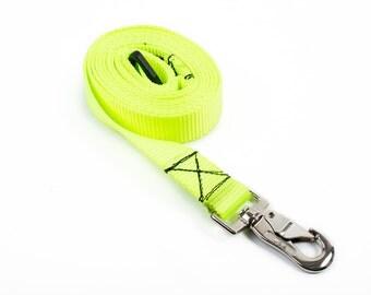 6' Neon Yellow Leash