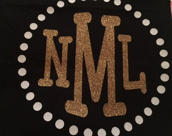 Personalized bling pillowcase