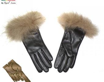 Ladies Leather Gloves (S71)