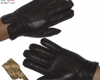 Men Leather Gloves (H392013)