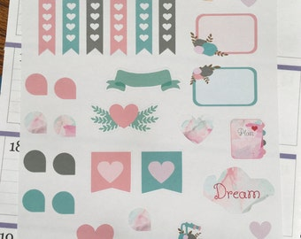 Inspire and Dream Collection  - Planner Stickers Kit