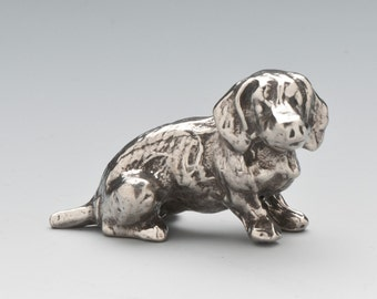 Dachshund Dog Figurine