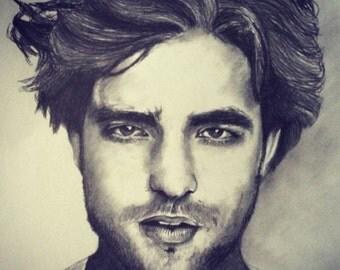Robert Pattinson Illustration