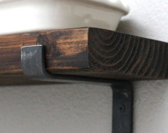 iron shelf bracket open shelving brackets custom metal brackets rustic shelves industrial