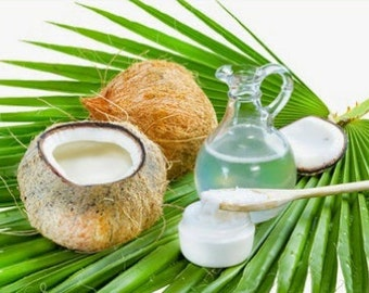 90 ml Natural Cold Pressed Coconut Oil For Health Hair Skin Spa Massage Pulling Cooking Crafts Cupping Guasa