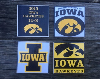 University of Iowa Coasters (set of 4)