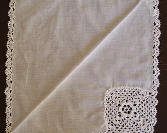 Crochet Detailed Handkerchiefs