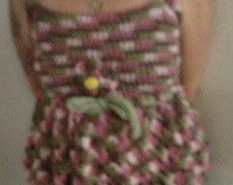 Shirt, Crocheted Tank Top
