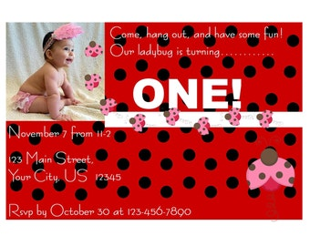 Ladybug Stationary Set
