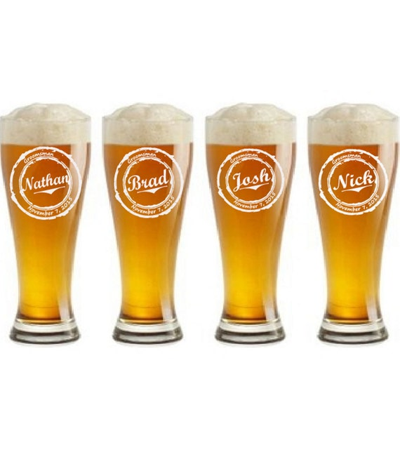 Personalized Beer Mugs Wedding Gift : ... beer glass, Custom Glass, Pint beer Mug, Wedding Party Favors, Gifts
