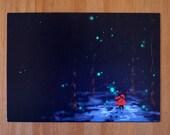 Postcard Winterwoods