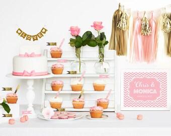 Personalized Dessert Bar/Candy Buffet Sign