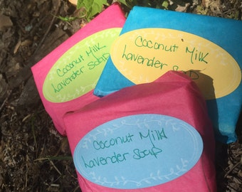 Coconut Milk Lavender Soap