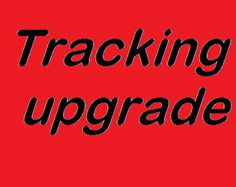 TRACKING UPGRADE UK only.