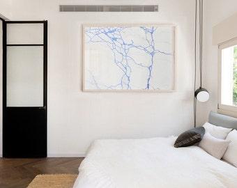 Blue Lines 2 (100 x 150)
