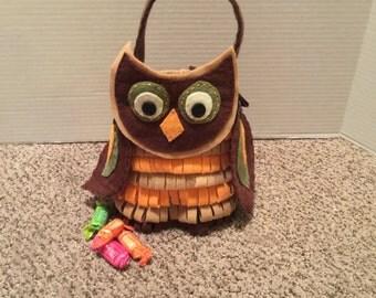 Owl Treat Bag