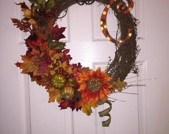 Customizable Door Wreath