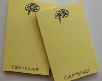 Celebrate Your Brain Signature Yellow Pad - 100 Sheets