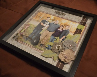 Personalize Shadow Box