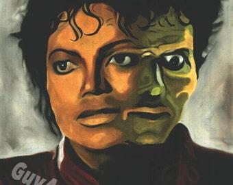 """Mj """"Thriller"""" 18 x 24"""" poster"""