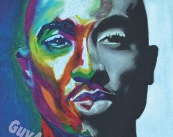 "Tupac 18"" x 24"" poster"