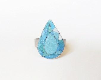 Gemstone ring turquoise