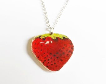 Necklace Strawberry